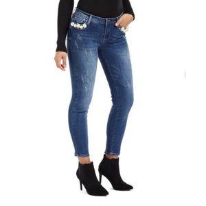 Bebe Pearl Skinny Jeans NWT